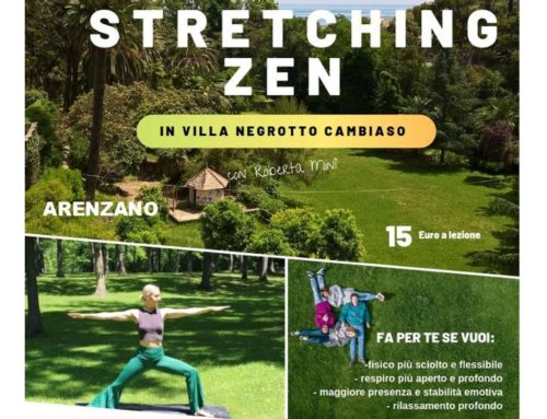 4 lezioni di Stretching Zen nel parco di Arenzano